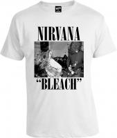 Футболка Nirvana Bleach White Cover