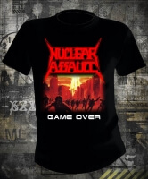 Футболка Nuclear Assault Game Over