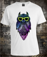 Футболка Owl Hipster Green