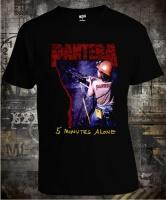 Футболка Pantera 5 Minutes Alone