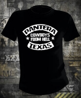 Футболка Pantera Cowboys From Hell Texas
