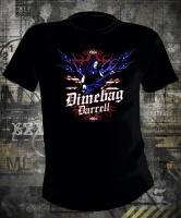 Pantera Dimebag Darrell USA Flames