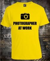Футболка Photographer At Work