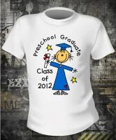 Футболка Preschool Graduate Girl