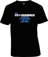 Футболка Programmer Never Wrong