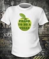 Футболка Proud To Be A Vegan