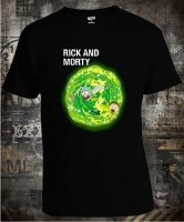 Футболка Rick And Morty Fallen