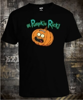 Футболка Rick And Morty Pumpkin