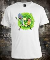 Футболка Rick And Morty Run
