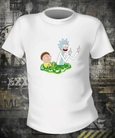 Футболка Rick And Morty Slime