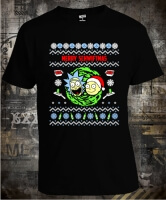 Rick and Morty Merry Schwiftmas