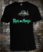 Футболка Rick and Morty Космический корабль