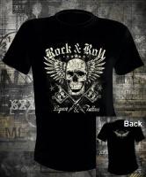 Футболка Rock n Roll Liquor and Tattoos