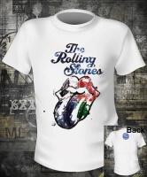 Футболка Rolling Stones Aqua