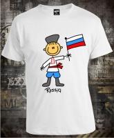 Футболка Russian Boy