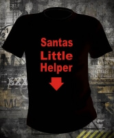 Футболка Santas Little Helper