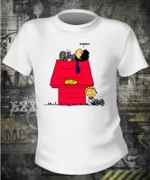 Футболка Sherlock Holmes Snoopy