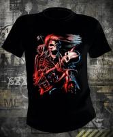 Футболка Iron Maiden Skeleton With Guitar