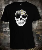 Футболка Skull and daisies