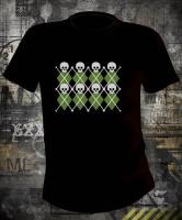 Футболка Skulls Pattern
