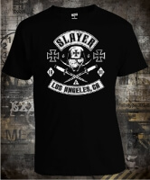 Футболка Slayer Los Ageles 1981 Skull