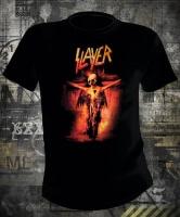 Футболка Slayer Skeleton Cross