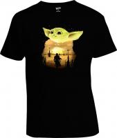 Футболка Star Wars Baby Yoda Art