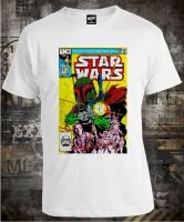 Футболка Star Wars Boba Fett Comic