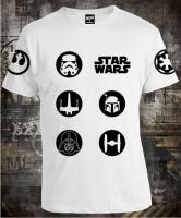 Футболка Star Wars Circle Symbols