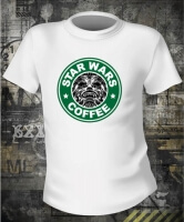 Футболка Star Wars Coffee Chewbacca