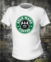 Футболка Star Wars Coffee Darth Vader