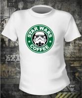 Футболка Star Wars Coffee жен XS
