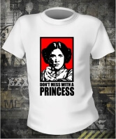 Star Wars Don't Mess With a Princess