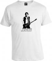 Футболка Star Wars Han Solo guitar