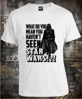 Футболка Star Wars Haven't Seen Vader