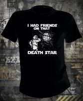 Футболка Star Wars I Had Friends on Death Star