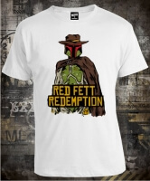 Футболка Star Wars Red Fett Redemption