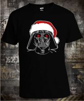 Футболка Star Wars Santa Darth Vader