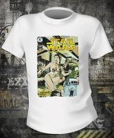 Футболка Star Wars Slave Leia Comic Book