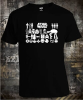 Футболка Star Wars a Lot of Icons