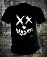 Suicide Squad Smiley Skull Logo