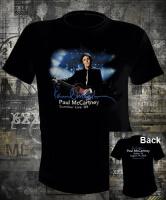Футболка The Beatles Paul McCartney Live 2009