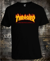 Футболка Thrasher Magazine Fire Logo