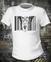 Футболка Tiger Barcode