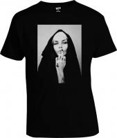 Футболка True Black Nun Монашка