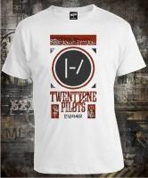 Twenty One Pilots White Grey