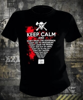 Футболка Walking Dead Keep Calm