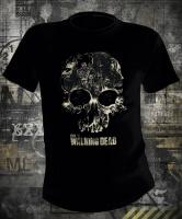 Футболка Walking Dead Skull