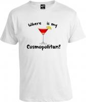 Футболка Where is My Cosmopolitan