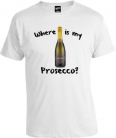 Футболка Where is My Prosecco